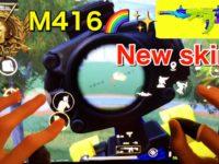 【PUBG MOBILE】10Fingers Hand Cam ②CONQUEROR-M416 NEW skin!?