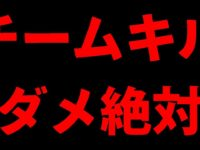 【PUBGMOBILE】野良パーティでの『チームキル自爆』が酷すぎる件【スマホ版】