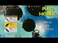 combinação perfeita de MK 14 e AUG / pubg mobile