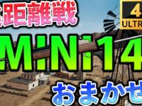 【PUBGMOBILE】遠距離戦が多い砂漠なら『MINI14』が強いぞ!!【4K高画質】