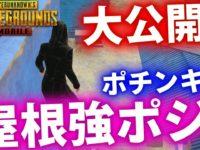 【PUBGMOBILE】最新アプデで追加された『屋根強ポジ』を紹介!!ポチンキ編!!【PUBGモバイル】